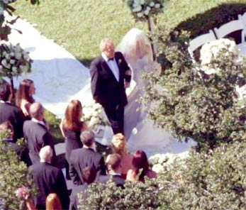 Avril's wedding photo