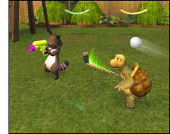Screenshot of the Over the Hedge video game
