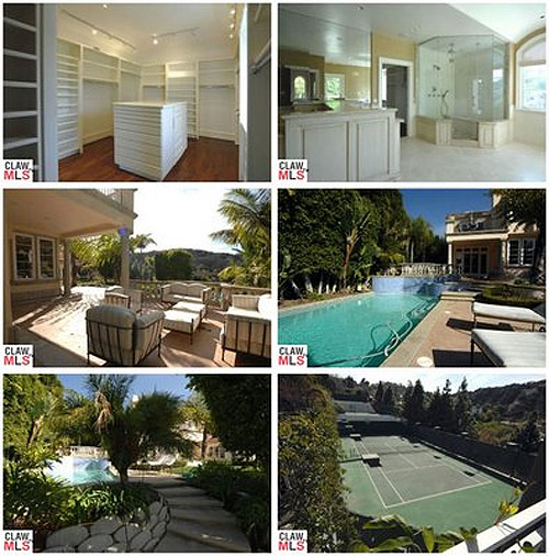 Pix from inside Avril's old house
